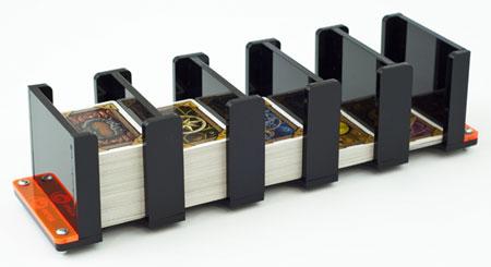 e-Raptor Kartenhalter - 5S Solid (Plexiglas schwarz)