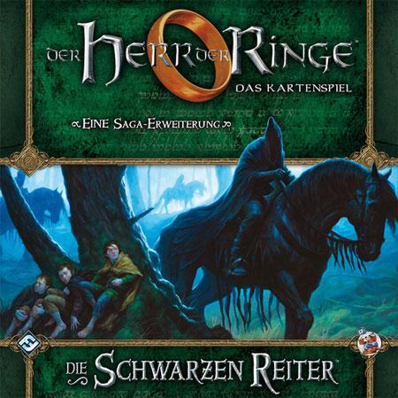 Der Herr der Ringe - Das Kartenspiel: Die Schwarzen Reiter (HDR Saga Erweiterung 1)