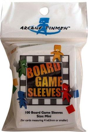 Arcane Tinmen - 100 Kartenhüllen für Kartengröße 41 x 63 mm, mini