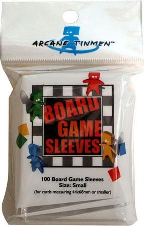 Arcane Tinmen - 100 Kartenhüllen für Kartengröße 44 x 68 mm, klein