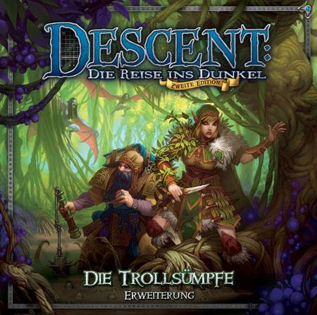 Descent 2. Edition - Die Trollsümpfe Erweiterung (dt.)