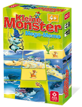 "Kleine Monster ""Fleddericks"" - Mega Memo"