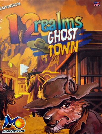 12 Realms - Ghost Town Erweiterung 2nd Ed. mit bemalten Miniaturen (engl.)