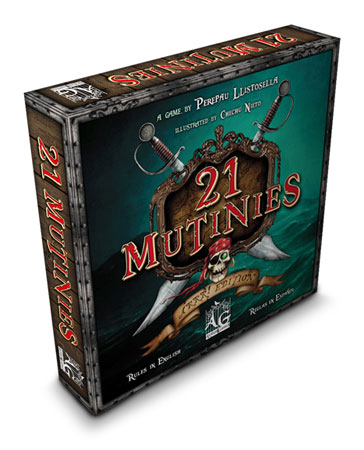 21 Mutinies - Arrr! Edition - Basisspiel