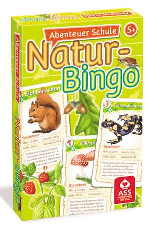 Abenteuer Schule - Natur Bingo