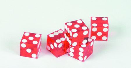 Casinowürfel (5er Pack)