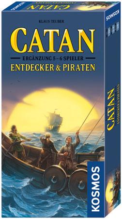 Catan - Entdecker & Piraten Erweiterung für 5-6 Spieler
