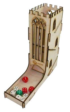 e-Raptor Würfelturm Tower DIY Vol.3 (Holz) - Castle