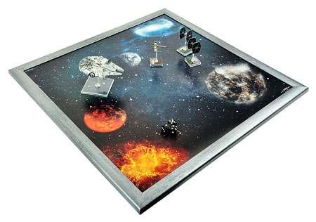 Spielmatte Planeten (90 x 90 cm)