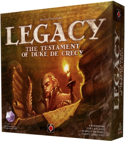 Legacy: The Testament of Duke de Crecy (engl.)