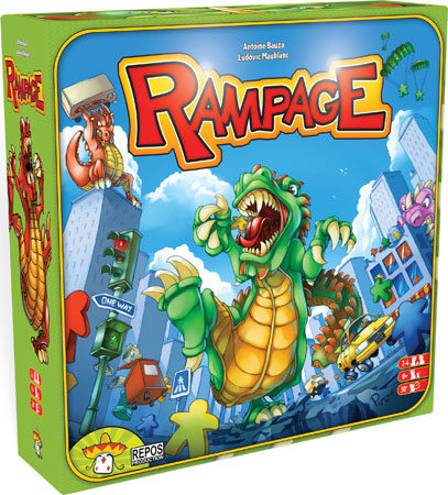 Rampage Spiel