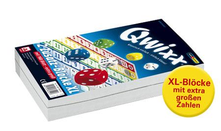 Qwixx XL 2 Zusatz-Blöcke