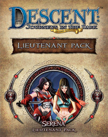 Descent 2nd Edition - Serena Lieutenant Pack (engl.)