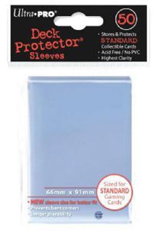 Ultra Pro - 50 Kartenhüllen für Kartengröße 66 x 91 mm