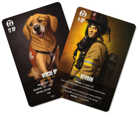 Flash Point: Fire Rescue - Veteran und Rescue Dog (engl.)
