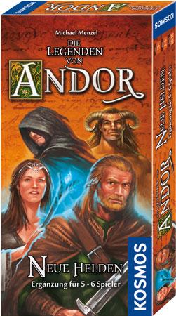 Die Legenden von Andor - Neue Helden Erweiterung