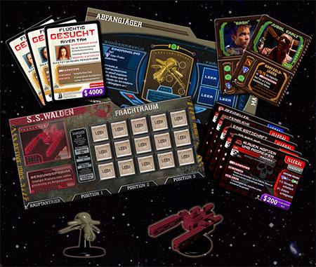 Firefly: Das Spiel – Piraten und Kopfgeldjäger Erweiterung