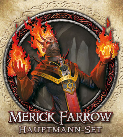 Descent 2. Edition - Merick Farrow Hauptmann-Set (dt.)