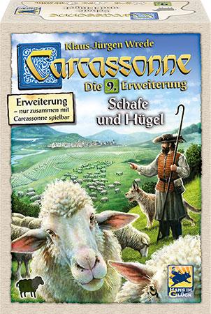 Carcassonne - Schafe und Hügel (9. Erweiterung)