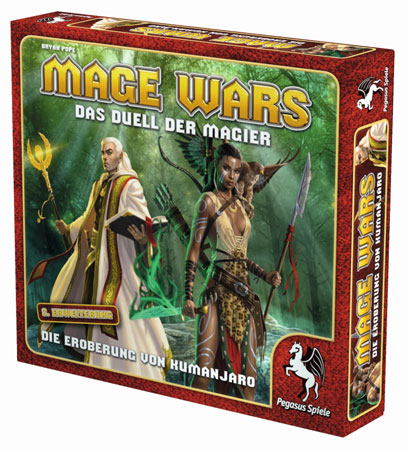 Mage Wars - Das Duell der Magier - Die Eroberung von Kumanjaro Erweiterung (dt.)