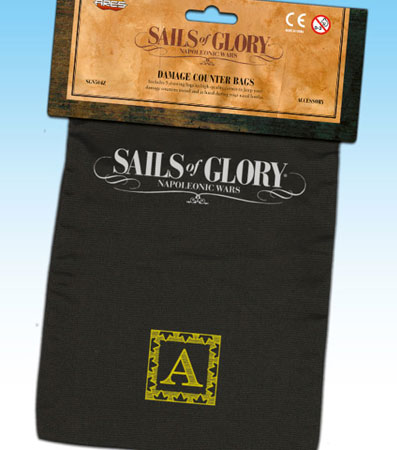 Sails of Glory: Damage Counter Bags (engl.)