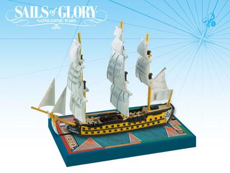 Sails of Glory: French S.o.L. Ship Pack - Commerce de Bordeaux 1784 (engl.)