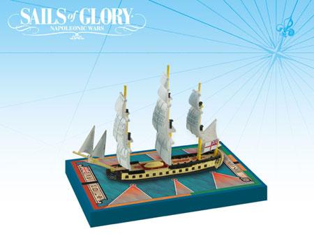 Sails of Glory: British Frigate Ship Pack - HMS Concorde 1783 (engl.)