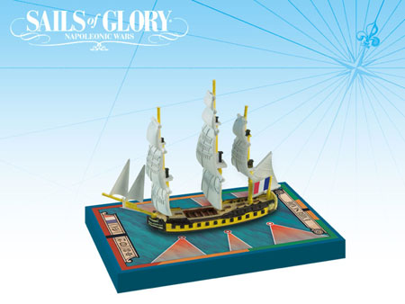 Sails of Glory: French Frigate Ship Pack - Embuscade 1798 (engl.)