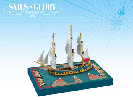 Sails of Glory: British Frigate Ship Pack - HMS Cleopatra 1779 (engl.)