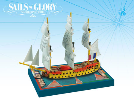 Sails of Glory: French S.o.L. Ship Pack - Le Berwick 1795 (engl.)