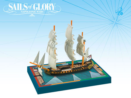 Sails of Glory: French Frigate Ship Pack - Carmagnole 1793 (engl.)
