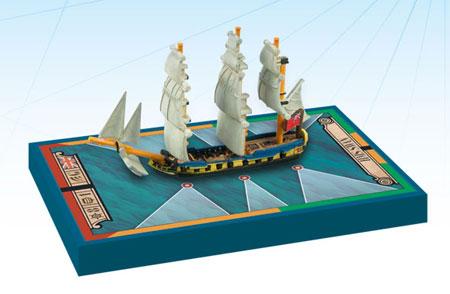 Sails of Glory: British Ship-Sloop Ship Pack - HMS Swan 1767 (engl.)