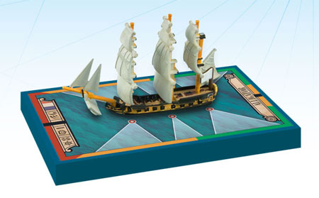 Sails of Glory: French Ship-Sloop Ship Pack - Alligator 1782 (engl.)