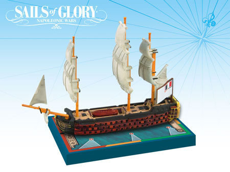 Sails of Glory: French SotL Ship Pack - Montagne 1790 (engl.)