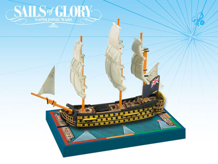 Sails of Glory: British SotL Ship Pack - HMS Royal Sovereign 1786 (engl.)