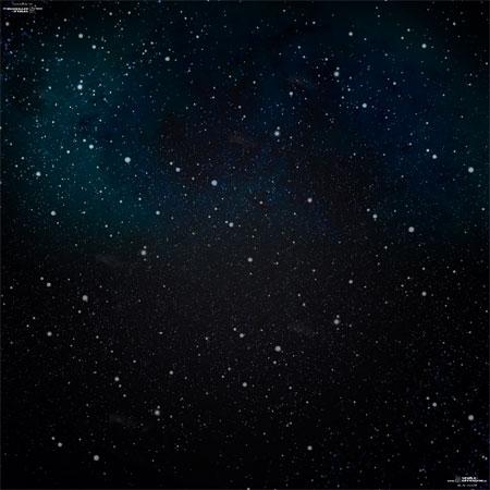 Spielmatte Weltraum (60 x 60 cm)
