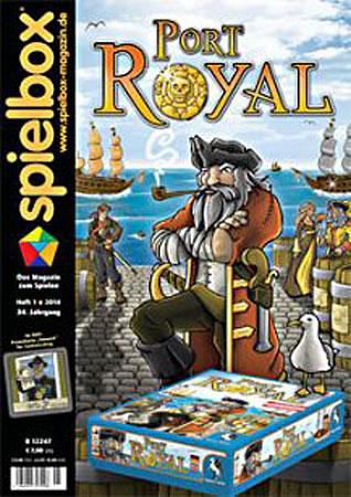 Spielbox 1/2014 englische Ausgabe