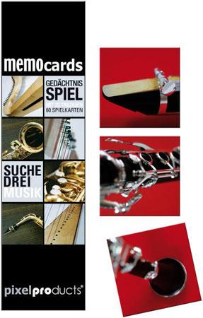 MemoCards: Suche Drei Musik