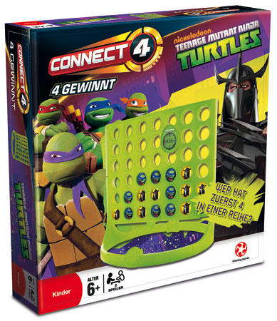 4 Gewinnt (Connect 4) Teenage Mutant Ninja Turtles