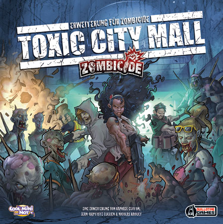 Zombicide - Toxic City Mall Erweiterung (dt.)