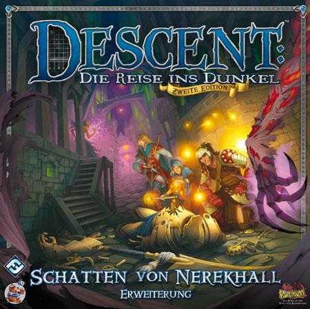 Descent 2. Edition - Schatten von Nerekhall Erweiterung (dt.)