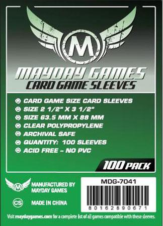 Mayday - 100 Kartenhüllen für Kartengröße 63,5 x 88 mm
