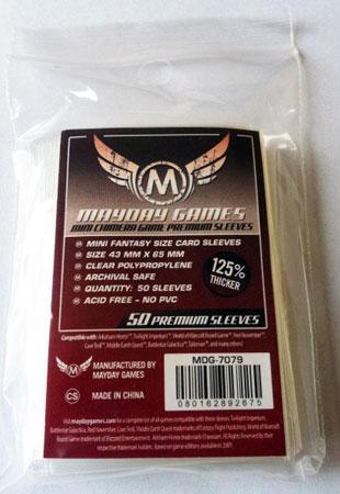 Mayday - 50 Kartenhüllen Premium  Mini Chimera für Kartengröße 43 x 65 mm
