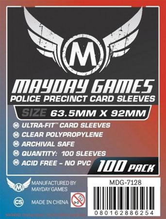 Mayday - 100 Kartenhüllen für Kartengröße 63,5 x 92 mm