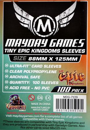 Mayday - 100 Kartenhüllen für Kartengröße 88 x 125 mm