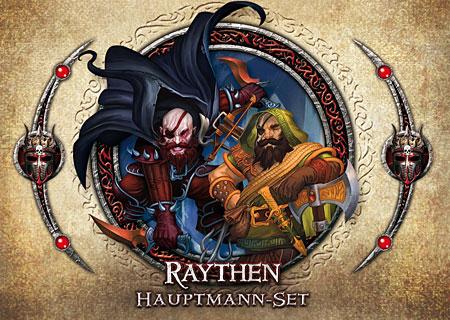 Descent 2. Edition - Raythen Hauptmann-Set (dt.)