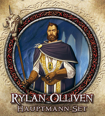 Descent 2. Edition - Rylan Olliven Hauptmann-Set (dt.)