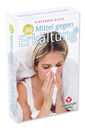 36 Mittel gegen Erkältung – Wohlfühlkarten