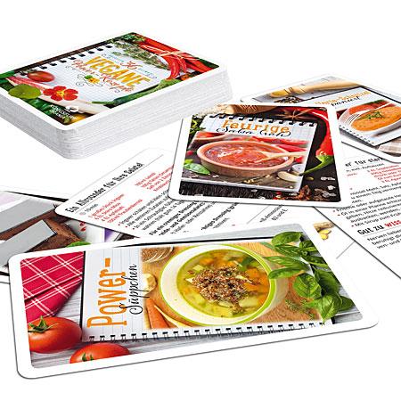 36 Vegane Power-Rezepte – Wohlfühlkarten