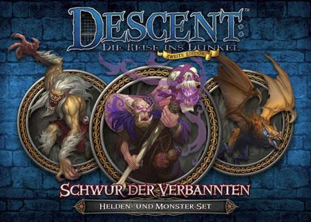 Descent 2. Edition - Schwur der Verbannten Helden- und Monster-Set